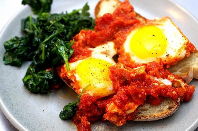 Eggs in Tomato Sauce | Food & Drink | Pinterest