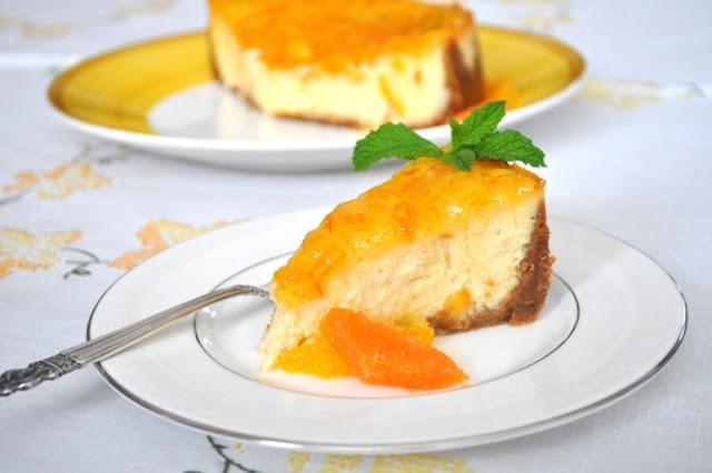 Orange Ricotta Cheesecake | Cheesecake Is Heavenly! | Pinterest