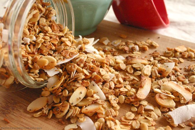Coconut Almond Granola | Recipe