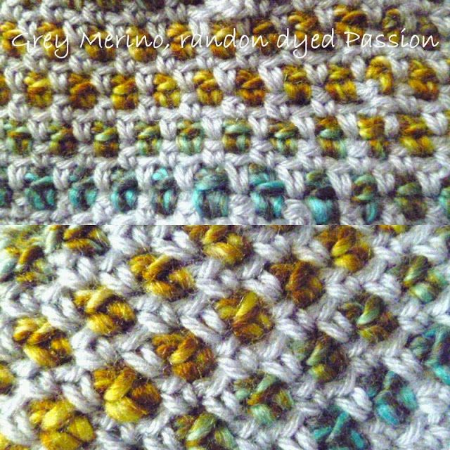 Crochet Stitches How To Do : Moss Stitch How to do, CROCHET STITCHES Pinterest