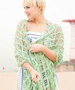 Beachcomber Shawl free crochet pattern