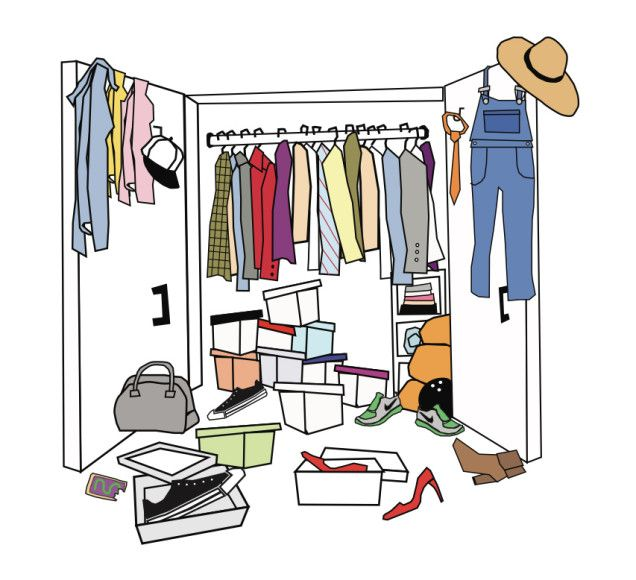Cleaning Closet Stunning With Closet Cleaning | Closet Envy | Pinterest Image