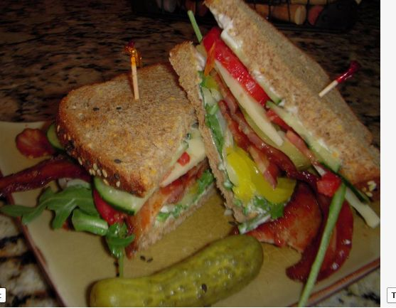 Monster BLT Recipe - FabFoodies | Food and Drinks