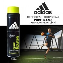 Adidas  Déodorant Pure Game antitranspirant 24H 200ml