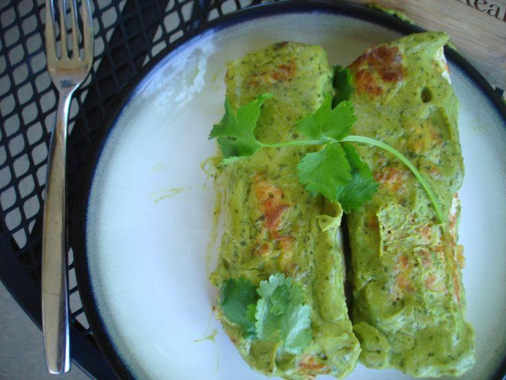 avocado enchiladas