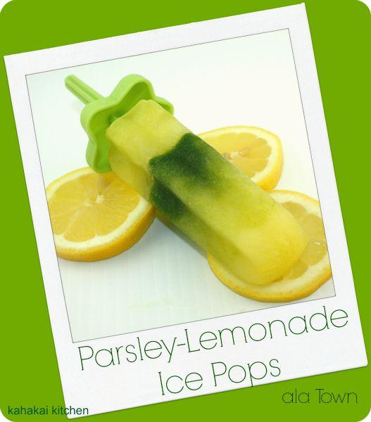 Parsley-Lemonade Ice Pops {#SummerOfThePopsicle Guest Post: Kahakai K ...