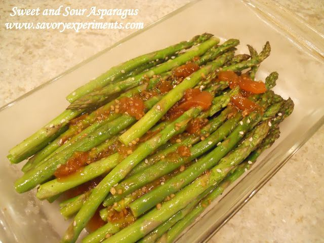 Asian-Inspired Oven-Roasted Asparagus Recipe