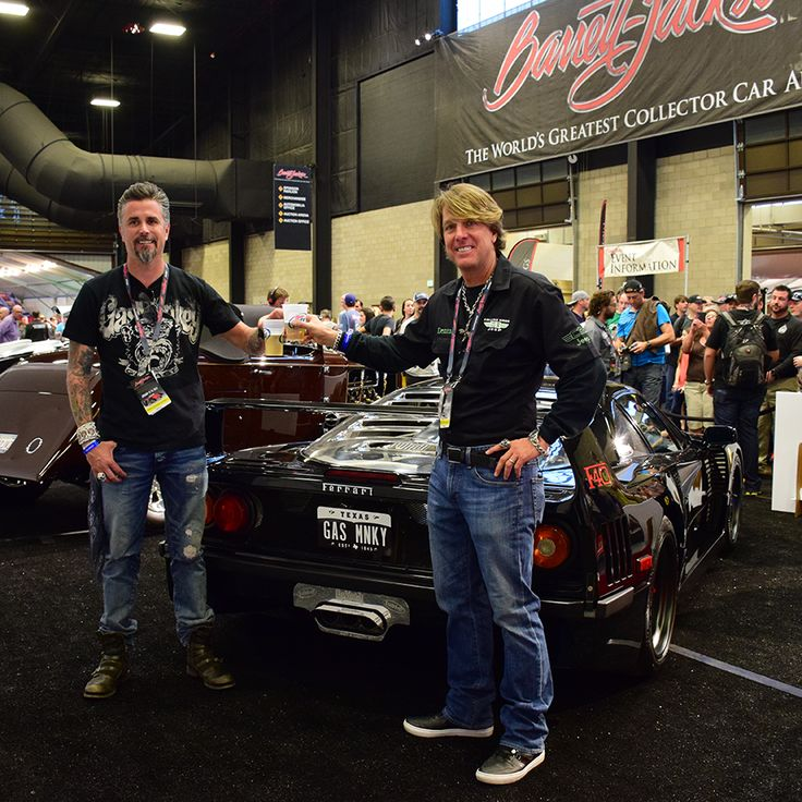 Richard Rawlings and Dennis Collins F40 GMG build  Barrett-Jackson    Richard Rawlings F40