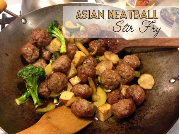 Asian Meatballs   Recipes I've Tried   Pinterest