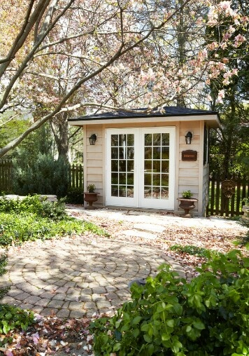 Cute Shed Garden Sheds Pinterest