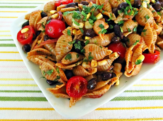 Southwest Pasta Salad with Chili Lime Dressing by ~CinnamonGirl -- I ...