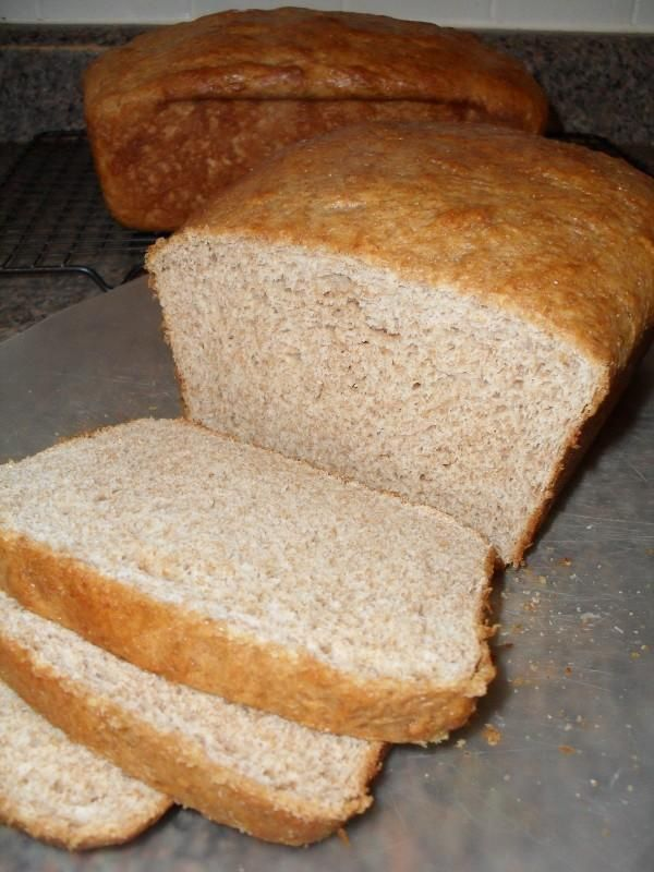 Honey-Whole Wheat Bread | Breads and Rolls | Pinterest