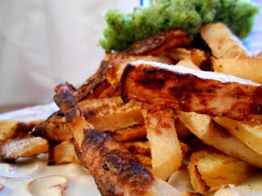 rutabaga fries! GF & vegan! | VEGAN yum yum | Pinterest