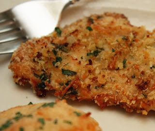 Daily Deliciousness: Baked Parmesan Romano Chicken