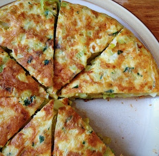Frittata with Leeks and Potatoes | delicious | Pinterest