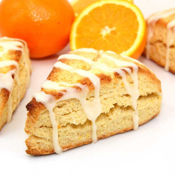 Orange Scones with Coconut Orange | Breads/Rolls/Muffins | Pinterest