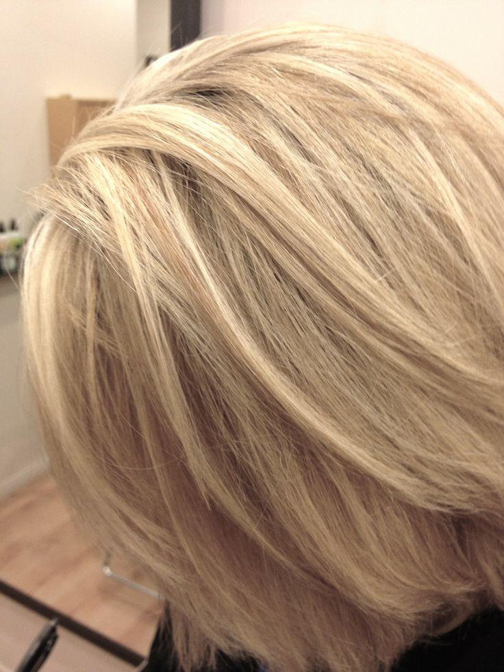 Creamy Blonde Highlights Hair Pinterest