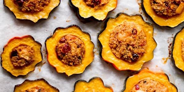 Oh My Veggies   Quinoa Stuffed Squash   EAT THIS!   Pinterest