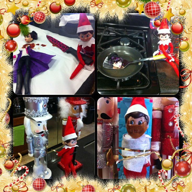 Bad bad Elf | Christmas ideas | Pinterest