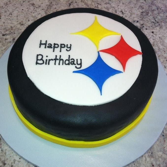 Steelers Birthday Cake IncrediCakes & Cookies Pinterest
