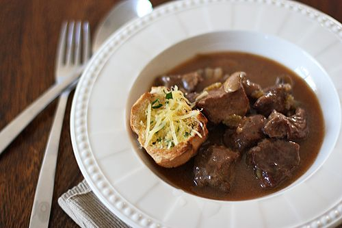 Beef and Beer Stew... 86 the mushrooms | Food and Recipes | Pinterest