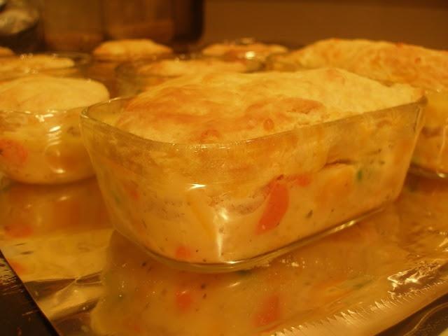 ... Provided: Turkey (or Chicken) Garden Pot Pie with Cheddar Biscuits