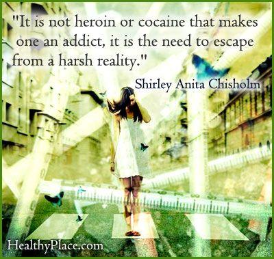 Sad quotes about drug addiction quotesgram