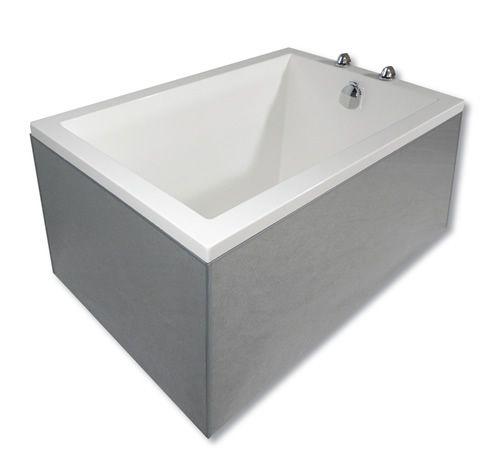 Small deep plunge bath bathroom ideas pinterest for Deep soaking tubs for small bathrooms