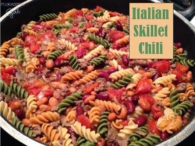Italian Skillet Chili