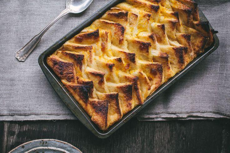 Warm Maple And Cinnamon Bread Pudding Recipes — Dishmaps