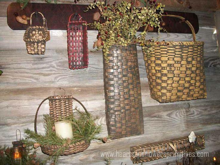 Primitive Homes Bing Images Baskets Pinterest