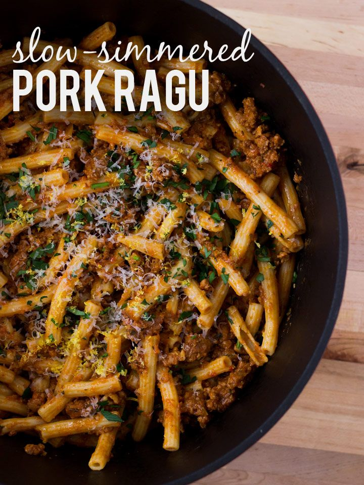 cookinginvictoria sunday pork ragu recipe on food52 sunday pork ragu ...