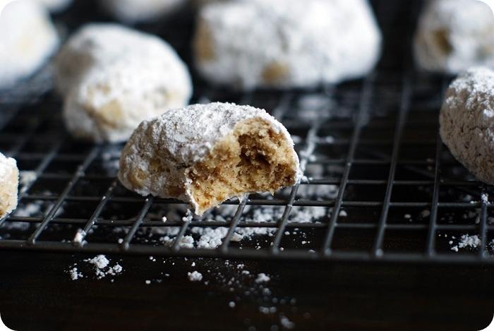 Bake at 350: A little dusting of magic...Cardamom Crescents