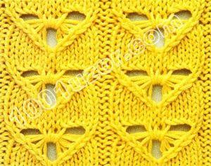 Crochet Stitches Open Work : 1001 pattern. Openwork patterns Knitting Stitches Pinterest