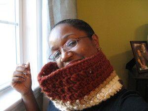 Chunky Neck Warmer - Scarf Crochet Pattern No.509
