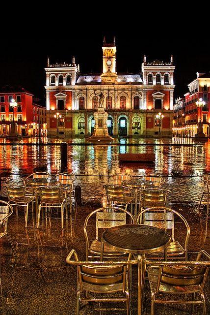 Plaza Mayor de Valladolid, Spain