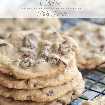 cookies with toffee bits soft batch style chocolate chip cookies