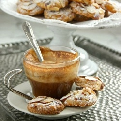 Italian Almond and Blood Orange Cookies -- fragrant and delicious!