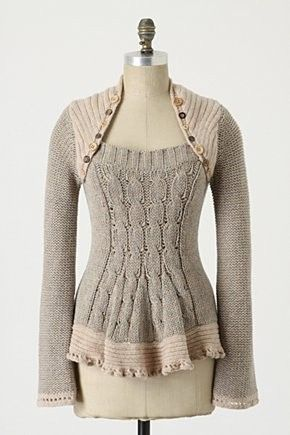 interesting sweater