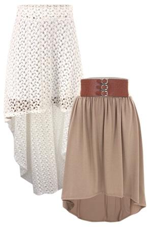 Hi-Low Skirts :)