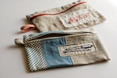 Lovely zip bag.