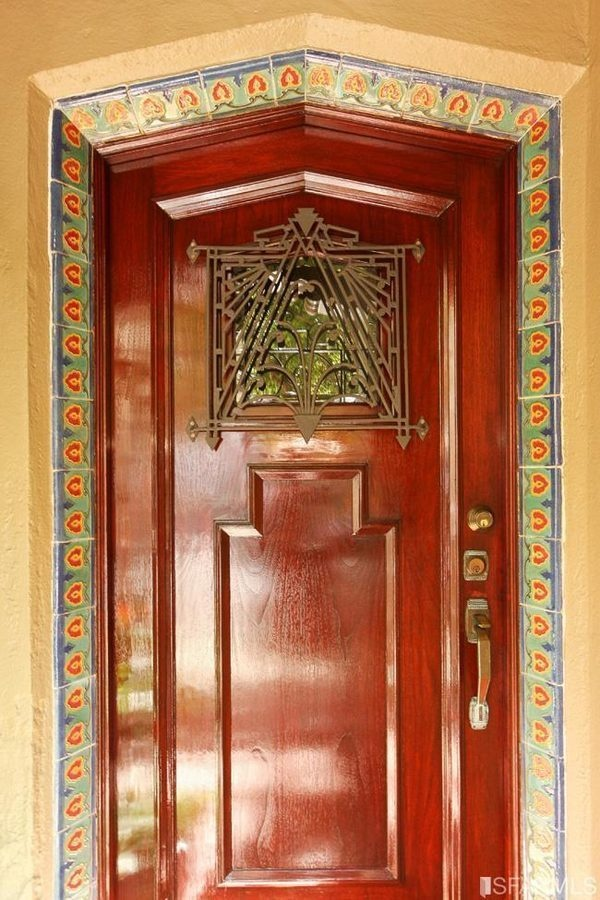 Art Deco Front Door Art Deco Pinterest