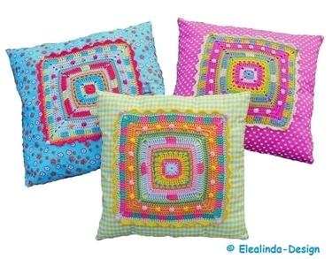 Crochet Granny Squares – A Floor Pillow
