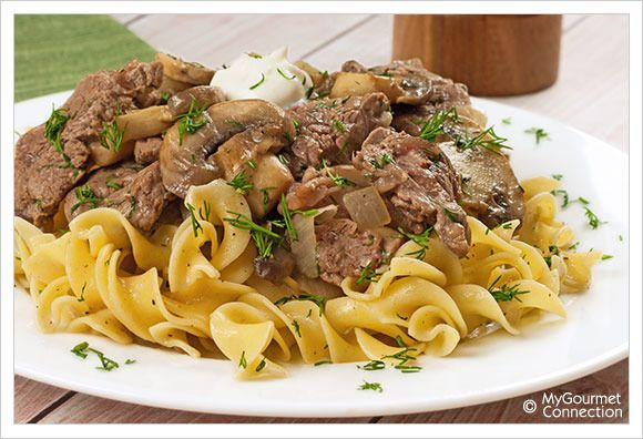 Beef Stroganoff by Mygourmet Connection. A quick and easy dinner that ...