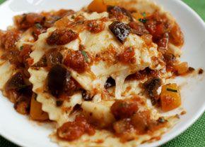 Mozzarella and Pecorino Ravioli - I used Buffalo Mozzarella and Romano ...