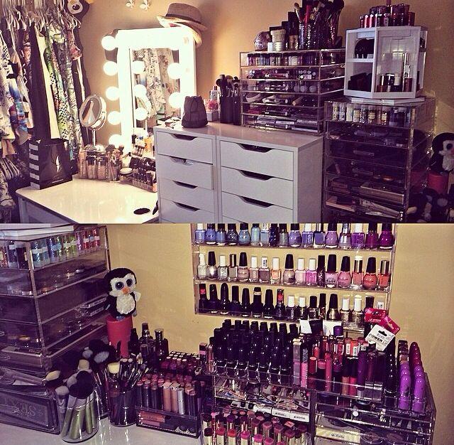 Perfect Makeup Storage Ideas Pinterest