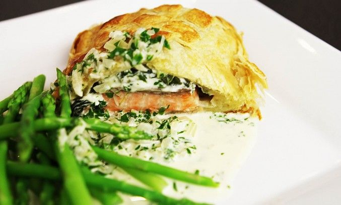 SORTED - Salmon en Croute | Food: Main Attraction | Pinterest