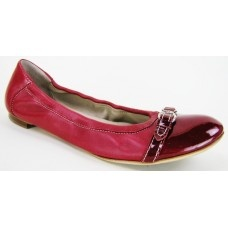Red Leather Ballerina Flats | Pre Owned Designer Shoes for Less Online