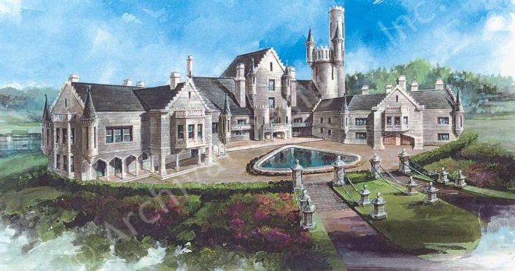 Balmoral house plan houseplans pinterest Castle home