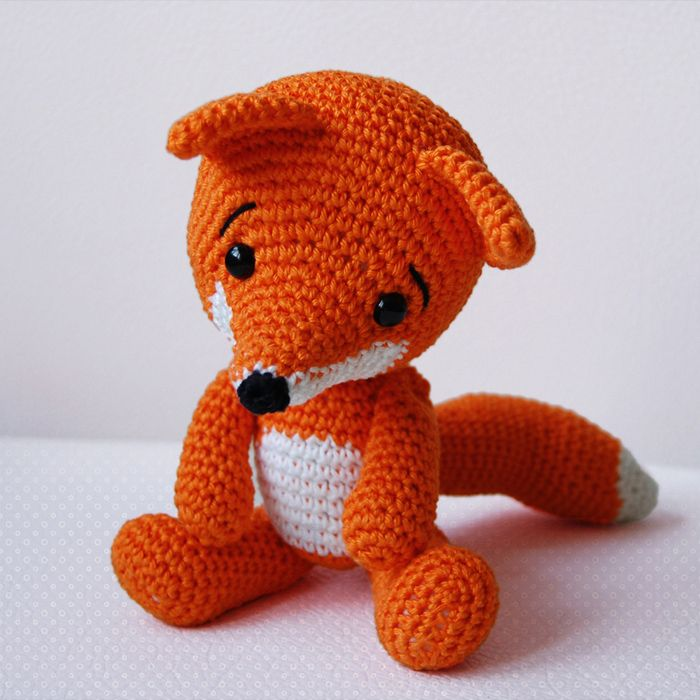 Amigurumi Fox animals Pinterest